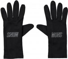 Mons Royale Volta Glove Liner - Black / Reflective