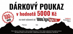 LyzeLyze.cz Darčekový poukaz 5000 Sk