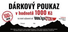 LyzeLyze.cz Darčekový poukaz 1000 Sk