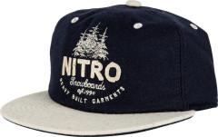 Nitro Šiltovka nitro Woods Cap - navy wool