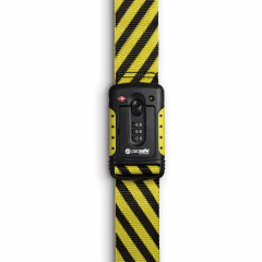 PacSafe STRAPSAFE 100 Luggage STRAP - yellow / black