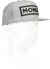 Mons Royale Wool Connor Cap - grey marl