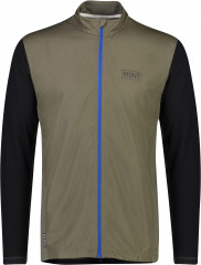 Mons Royale Redwood Wind Jersey - Black / olive
