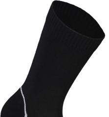 Mons Royale Tech Bike Sock 2.0 - black / grey
