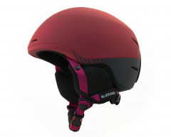 Blizzard Speed Ski Helmet Junior - vínová