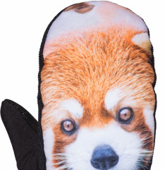 Armada Carmel Windstopper Mitt - red panda