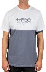 Nitro Block Tee - stone grey