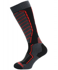 Blizzard Profi Ski Socks - čierna / sivá
