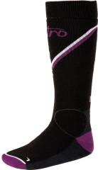 Nitro Monarch Socks - čierna / fialová