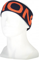 Mons Royale Arcadia Headband - navy / orange smash