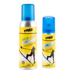 TOKO Skin set, (Eco Skin Proof + Skin Cleaner), set pre údržbu lyží sa skĺznicou Skin