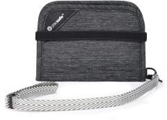 PacSafe RFIDSafe V50 Wallet - granite melange