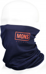 Mons Royale Double Up Neckwarmer - navy