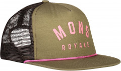 Mons Royale The ACL Trucker Cap - khaki rose