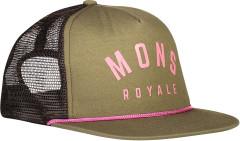 Mons Royale The ACL Trucker Cap - khaki rose