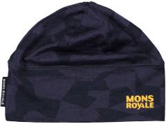 Mons Royale Tech Under Helmet Beanie - 9 iron camo