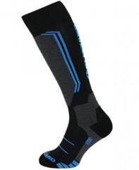 Blizzard Allround Wool Ski Socks Junior - čierna / modrá