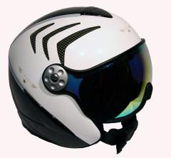Hammer H2 R wht / carbon / grn + štít VTM007