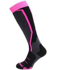 Blizzard Viva Allround Ski Socks Junior - čierna / ružová