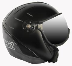 Hammer H2 R blk / silv. striped + štít VTS001