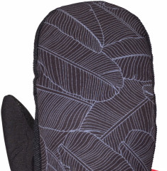 Armada Carmel Windstopper Mitt - Black banana leaf