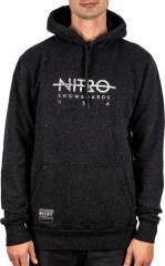 Nitro Apres Hoodie - black heather