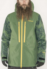 Armada Balfour GTX Pre 3L Jacket - forest green marble