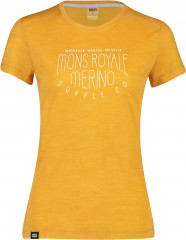 Mons Royale Vapour Tee - gold