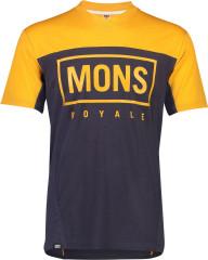 Mons Royale Redwood Enduro VT - gold / 9 iron