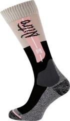 Nitro Crown Socks - čierna / ružová