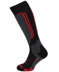 Blizzard Allround Wool Ski Socks - čierna / červená