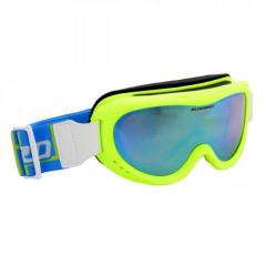 Blizzard 907 MDAZO - neon green matt, smoke2, blue mirror