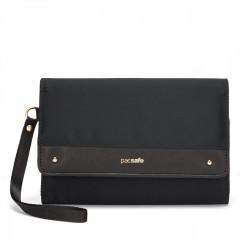 PacSafe Rfidsafe Clutch Wallet - čierna