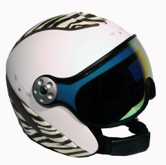 Hammer H2 zebra / White / LTHR. + Štít VTM007
