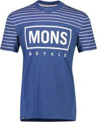 Mons Royale Redwood Enduro VT - ink stripe