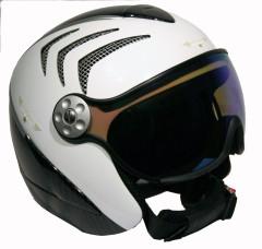 Hammer H2 R wht / carbon / silver + štít VTM008
