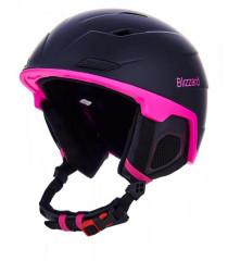 Blizzard Viva Double Ski Helmet - čierna / ružová