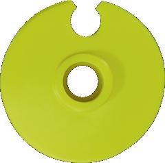 Leki Tanierik Alpine Basket - neon