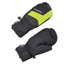 Blizzard Mitten Junior Ski Gloves - čierna / zelená