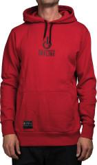 Nitro Offline M Hoodie - red