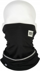 Mons Royale Mintaro 50/50 Neckwarmer - black