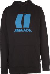 Armada Icon Hoodie - black / blue