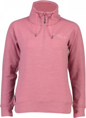 Mons Royale Covert Lite 1/2 Zip - dusty pink