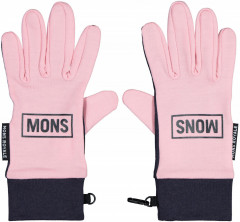 Mons Royale Elevation Gloves - rosewater / 9 iron