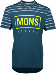 Mons Royale Redwood Enduro VT - modrá