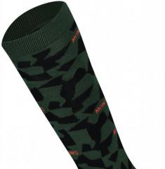 Mons Royale Lift Access Sock - pine camo