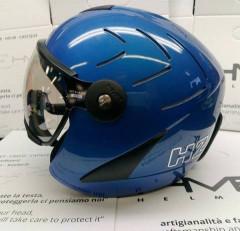 Hammer H2 R electric blue + štít VTS1
