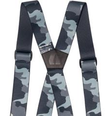 Armada Stage Suspenders - čierna / sivá / modrá