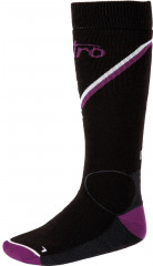 Nitro Monarch Socks - blk-gry-purp-wht
