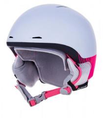 Blizzard Viva Speed Ski Helmet Junior - biela / ružová